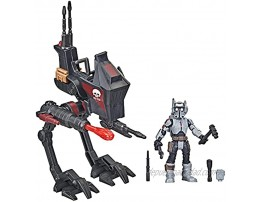 Star Wars Mission Fleet Expedition Class Tech Bad Batch at-RT Ambush 2.5-Inch-Scale Figure and Vehicle Set Toys for Kids Ages 4 and Up