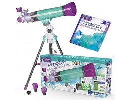 Educational Insights Nancy B's Science Club MoonScope Kids Telescope Telescope for Kids STEM Toy Ages 8+