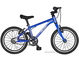 BELSIZE 16-Inch Belt-Drive Kid's Bike Lightweight Aluminium Alloy Bicycleonly 12.57 lbs for 3-7 Years Old Blue